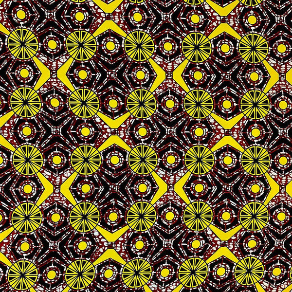 African Print (90207-6) Fabric