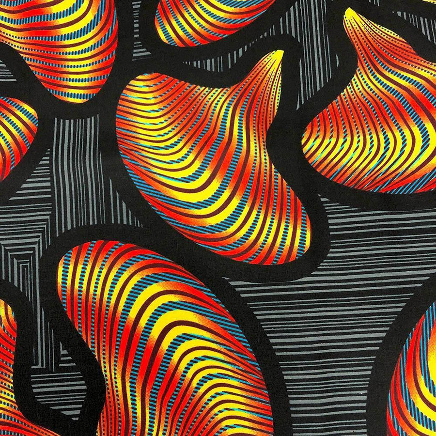 African Print (90217-3) Fabric