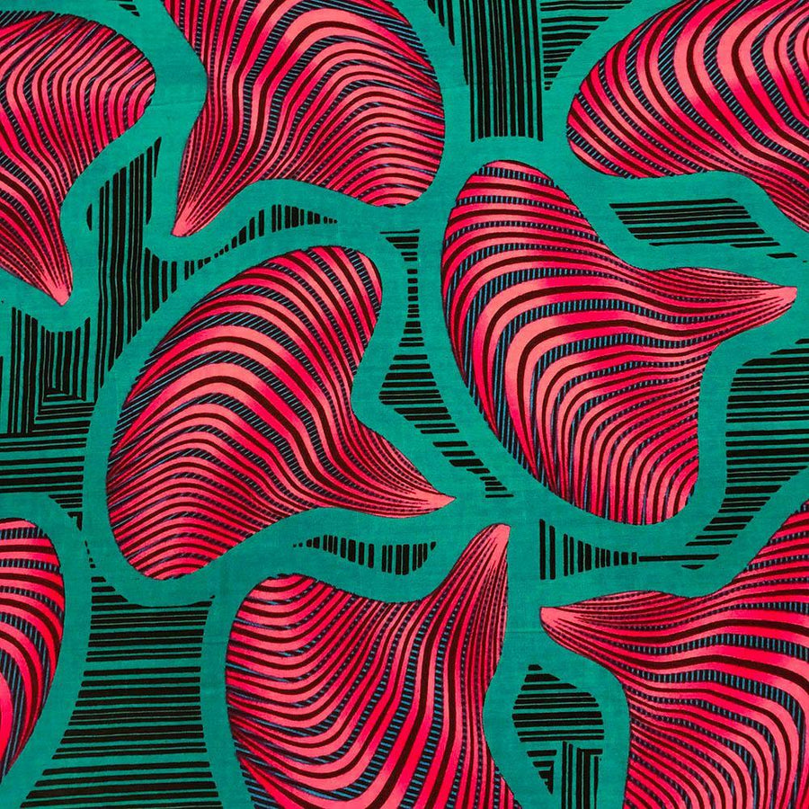 African Print (90217-4) Fabric
