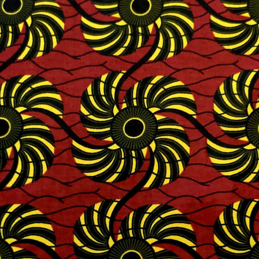 African Print (90120-1) Fabric