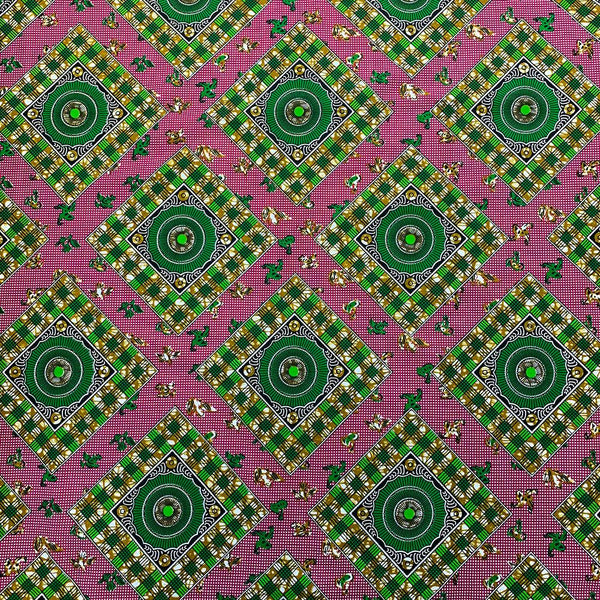 African Print (90124-3) Fabric