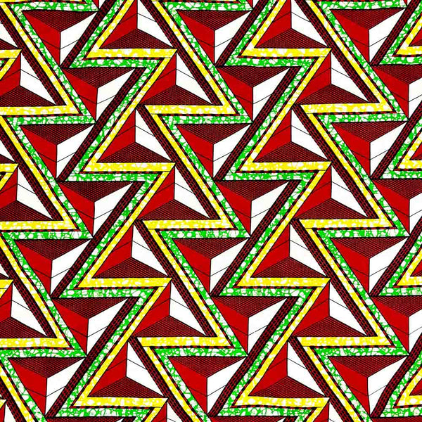 African Print (90156-5) Fabric