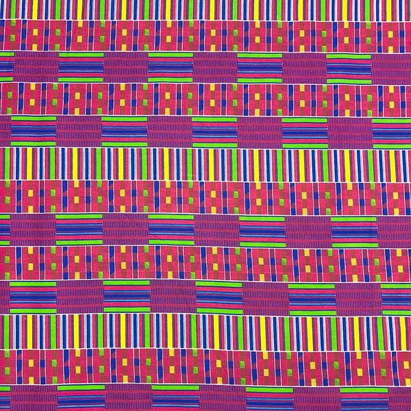 African Print (90197-3) Fabric