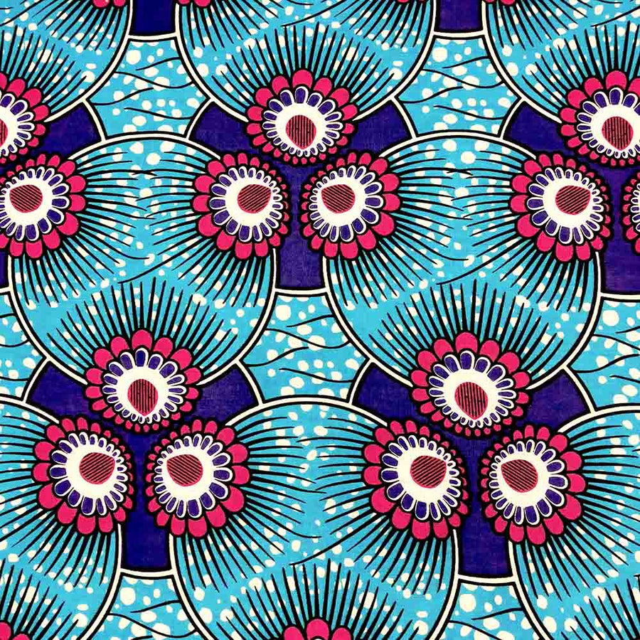 African Print (90157-1) Fabric