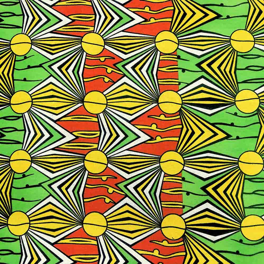 African Print (90180-2) Fabric