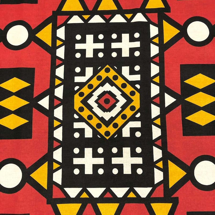 African Print (90196-2) Fabric