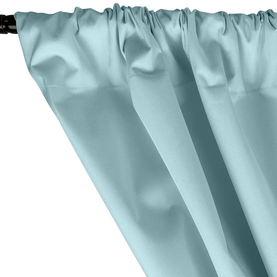 Ottertex® Canvas Waterproof Rod Pocket Curtains - Aqua