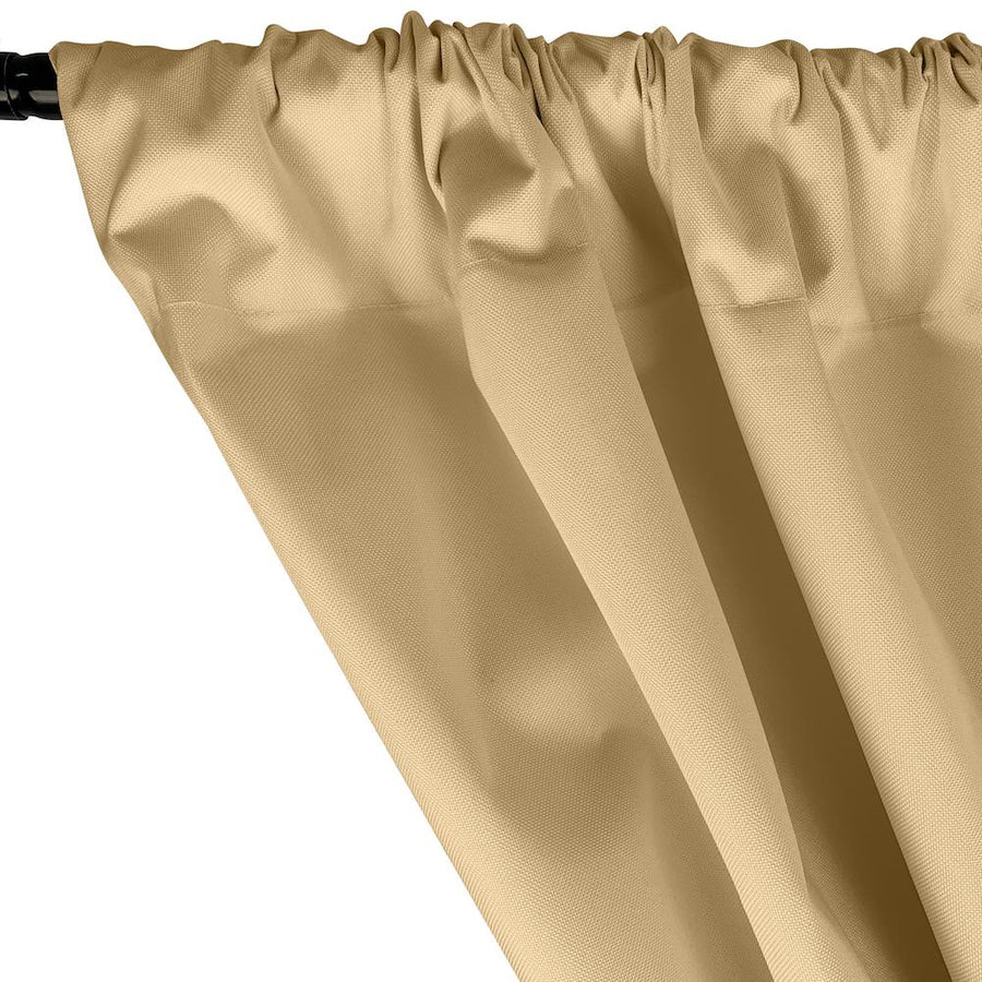 Ottertex® Canvas Waterproof Rod Pocket Curtains - Banana