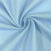 100% Cotton Broadcloth Rod Pocket Curtains - Light Blue