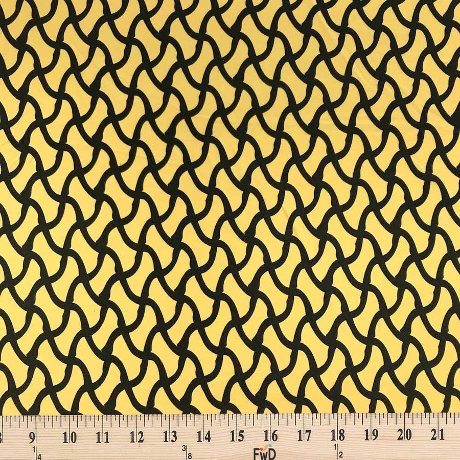 Braid Printed ITY (14-5) Fabric