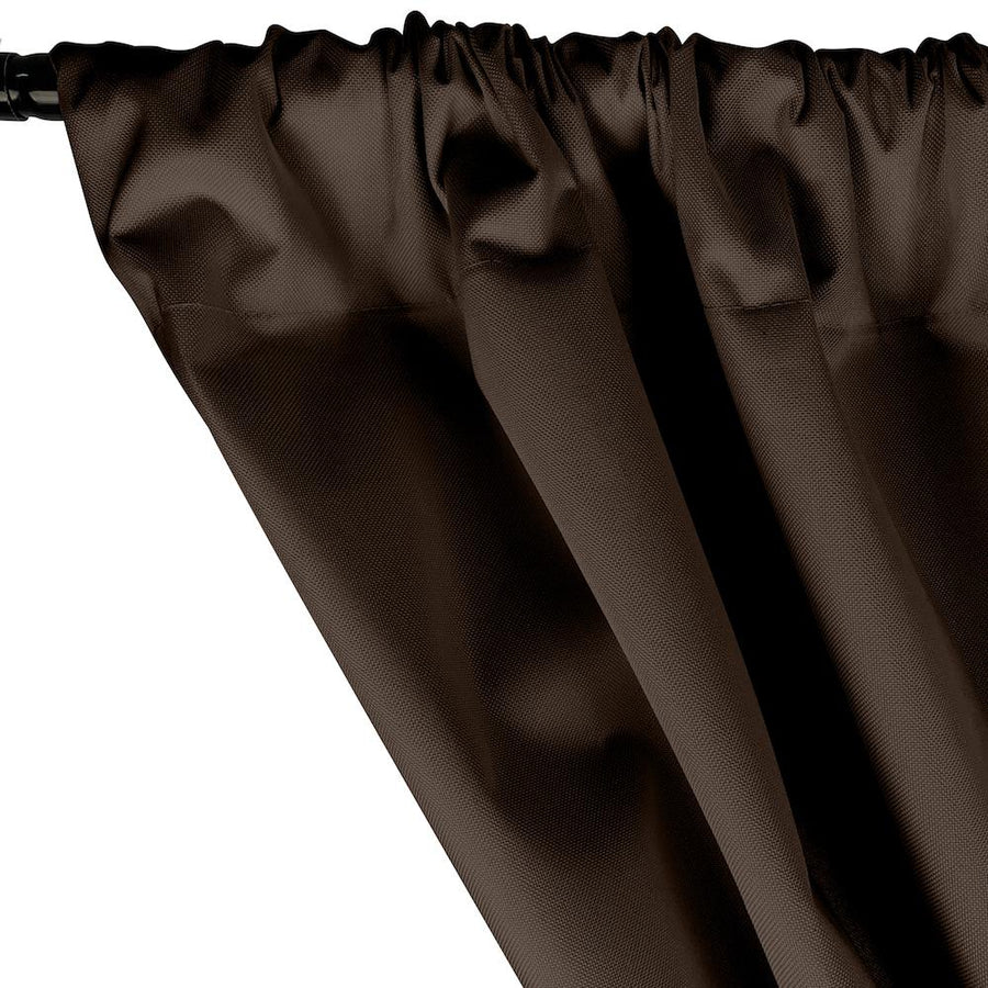 Ottertex® Canvas Waterproof Rod Pocket Curtains - Brown