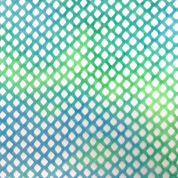 Mesh Dimension Print Fabric by the Yard with Material of Your Choice cotton included!