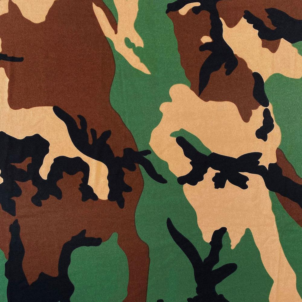 Camouflage  Printed ITY