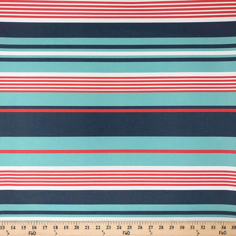 "Green checked print fabric  approx 29/"" wide by 18/""  long"