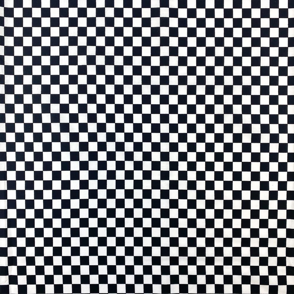 Checkered Print Cotton