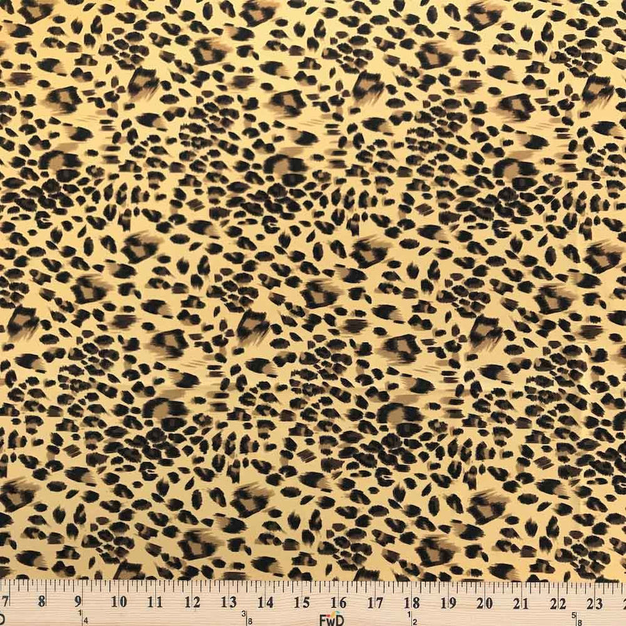 Cheetah Printed ITY (18-1) Fabric