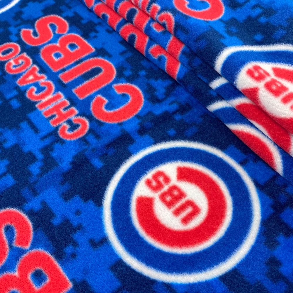 Chicago Cubs MLB Fleece Fabric