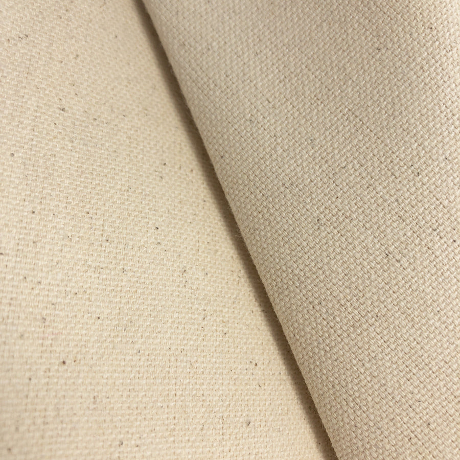 10 oz Natural Cotton Duck Canvas Fabric