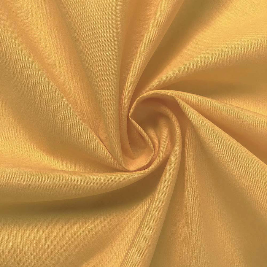 Cotton Polyester Broadcloth Rod Pocket Curtains - Sunflower