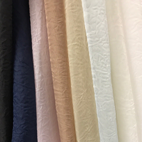 Crushed Sheer Voile 118 Fabric