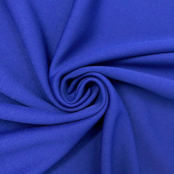 24094 Scuba Knit 58 Wide Polyester Fabric by The Yard White