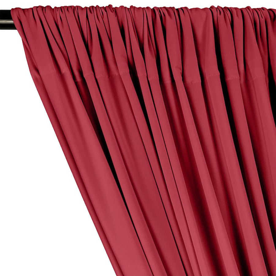 ITY Knit Stretch Jersey Rod Pocket Curtains - Fuchsia