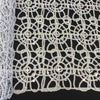 Silver Corded Sequin Lace