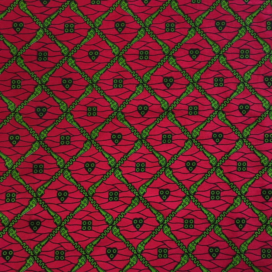African Print (90129-4) Fabric
