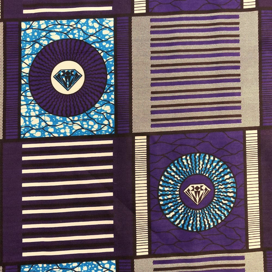 African Print (90230-1) Fabric