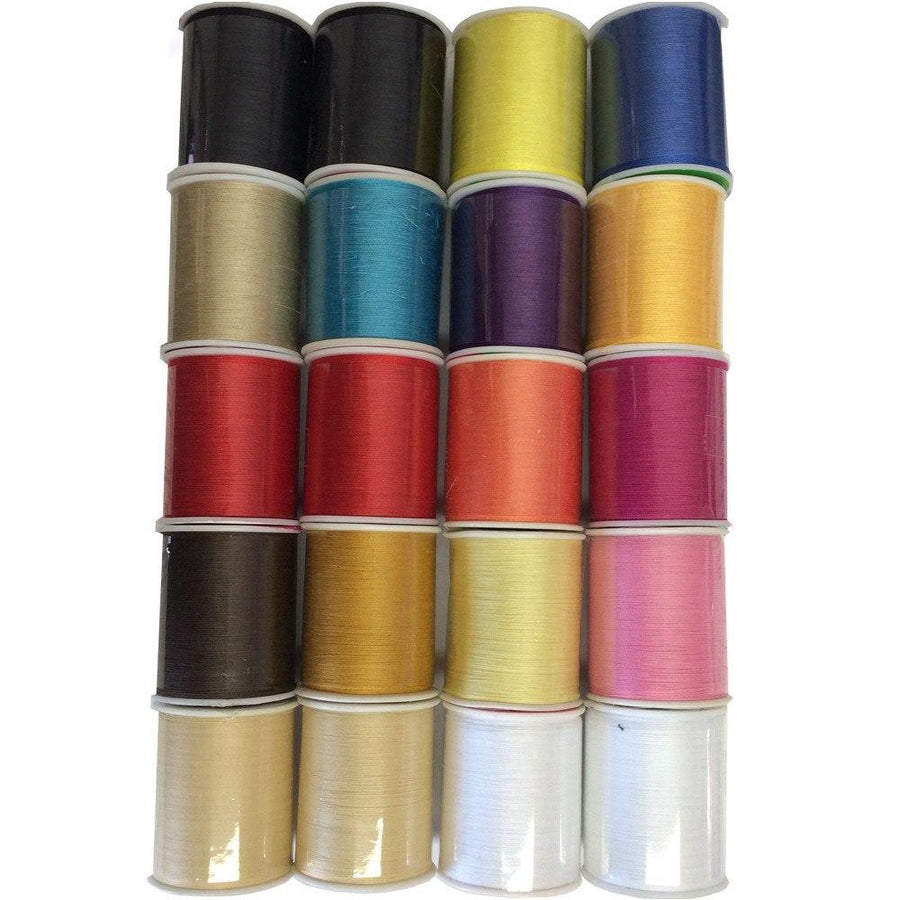 20 Piece Assorted Sewing Thread Fabric