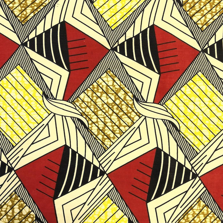 African Print (185185-2) Fabric