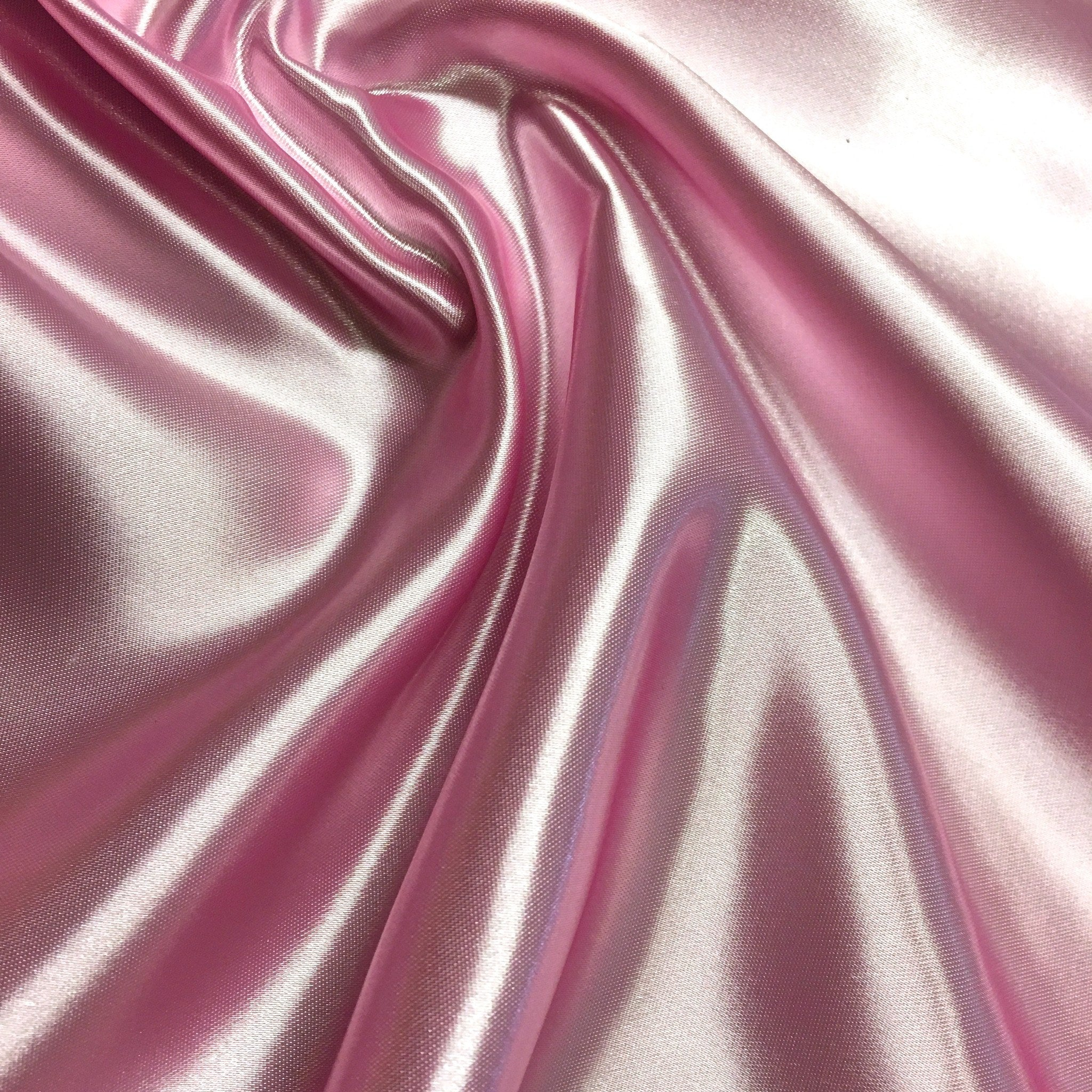"Free And For Sale >> Bridal Satin Fabric 60"" Wide 100% Polyester $2.99/yard Sold BTY - Fabric Wholesale Direct"