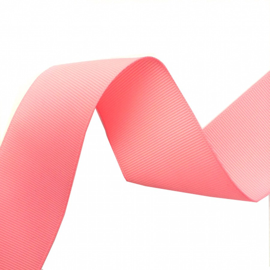 """Brand New Roll Pink Cloth Ribbon 1"""" Wide"""