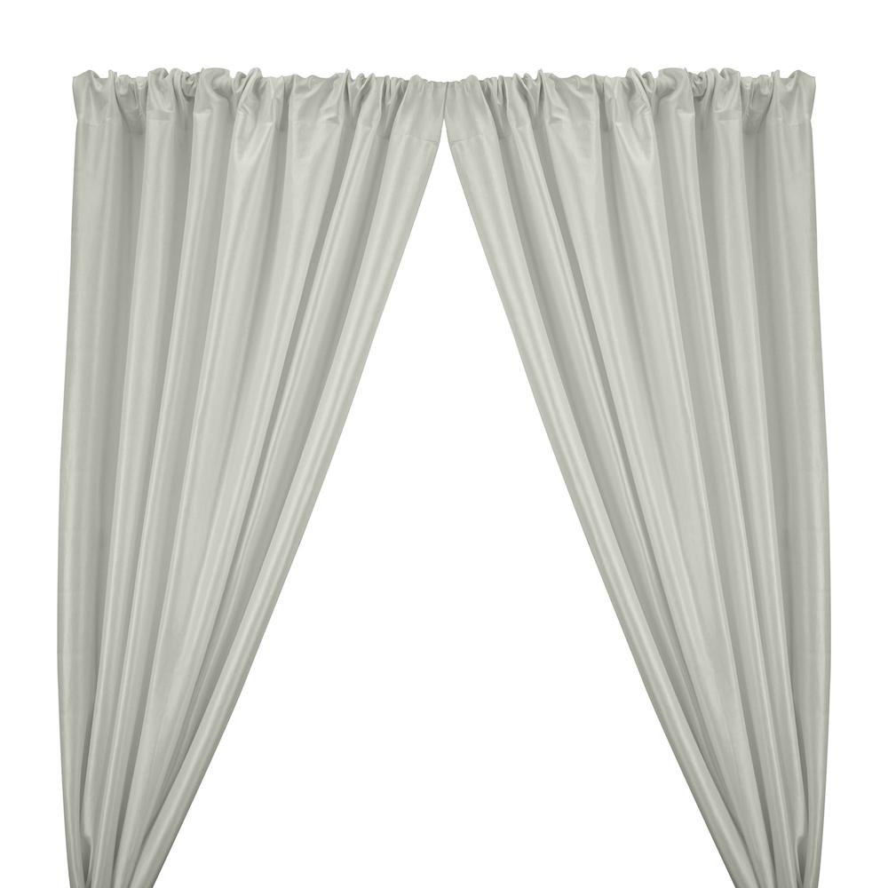 Stretch Taffeta Rod Pocket Curtains - Ivory