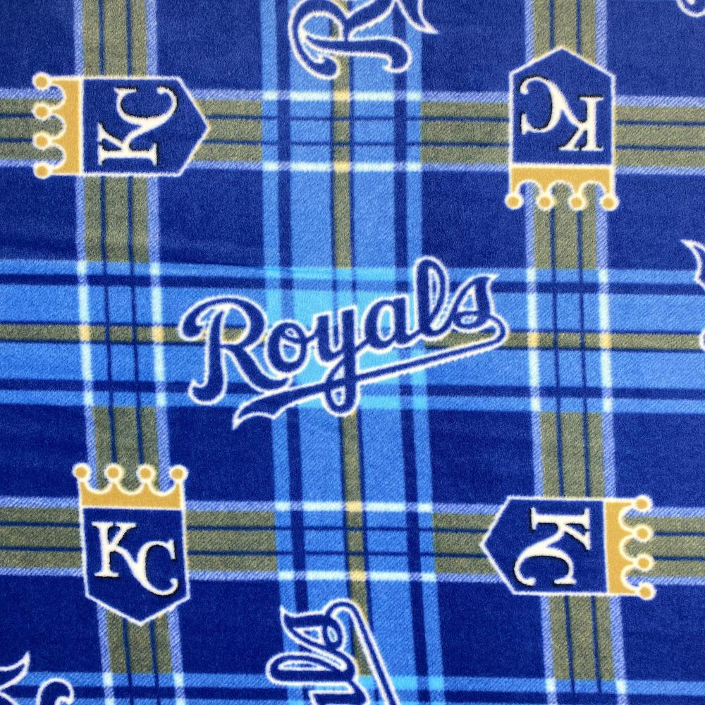 Kansas City Royals MLB Fleece Fabric