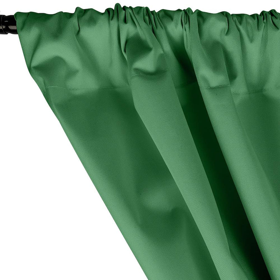 Ottertex® Canvas Waterproof Rod Pocket Curtains - Kelly Green