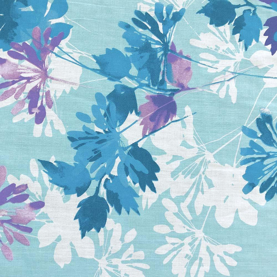 Kendall Blue Print Broadcloth