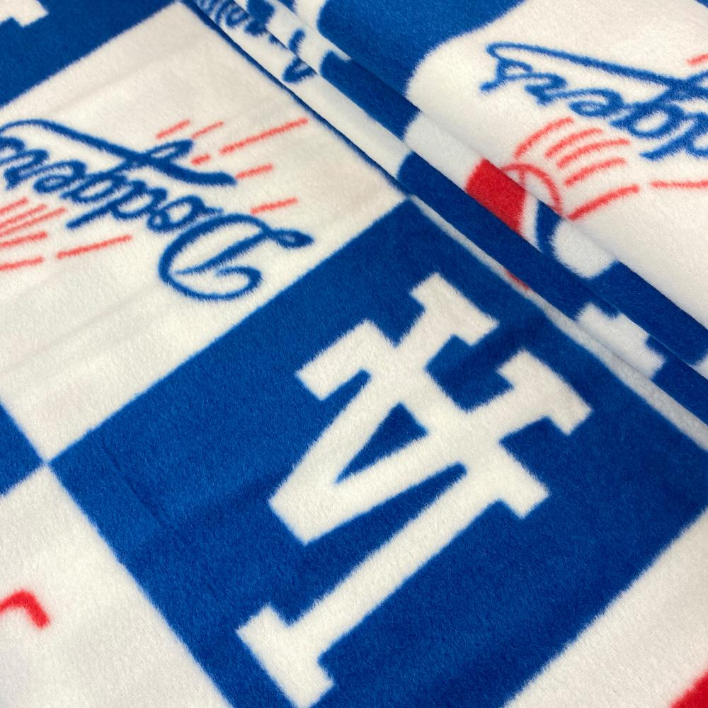 Los Angeles Dodgers MLB Fleece Fabric