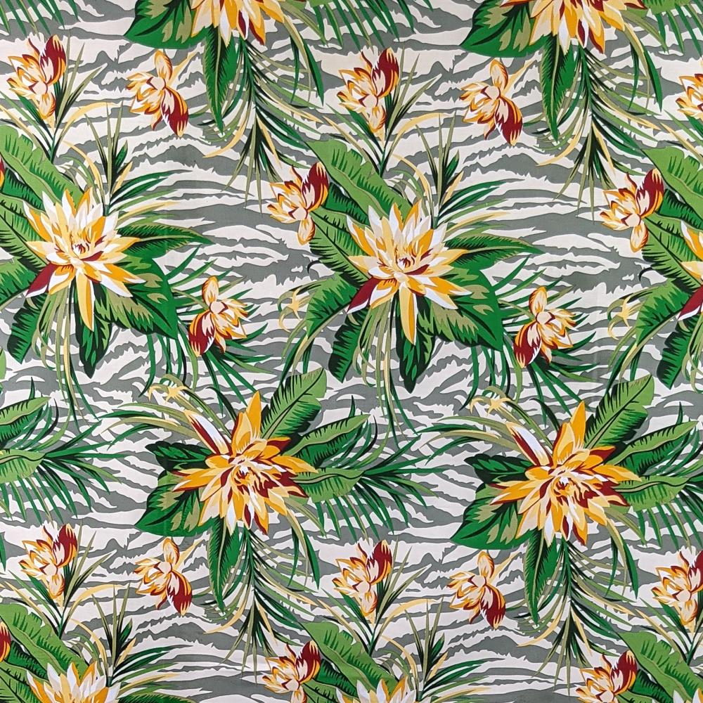 Lotus Print Cotton