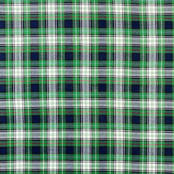 Madras Plaid Fabric (Style 15989)