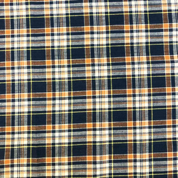 Madras Plaid Fabric (Style 16007)