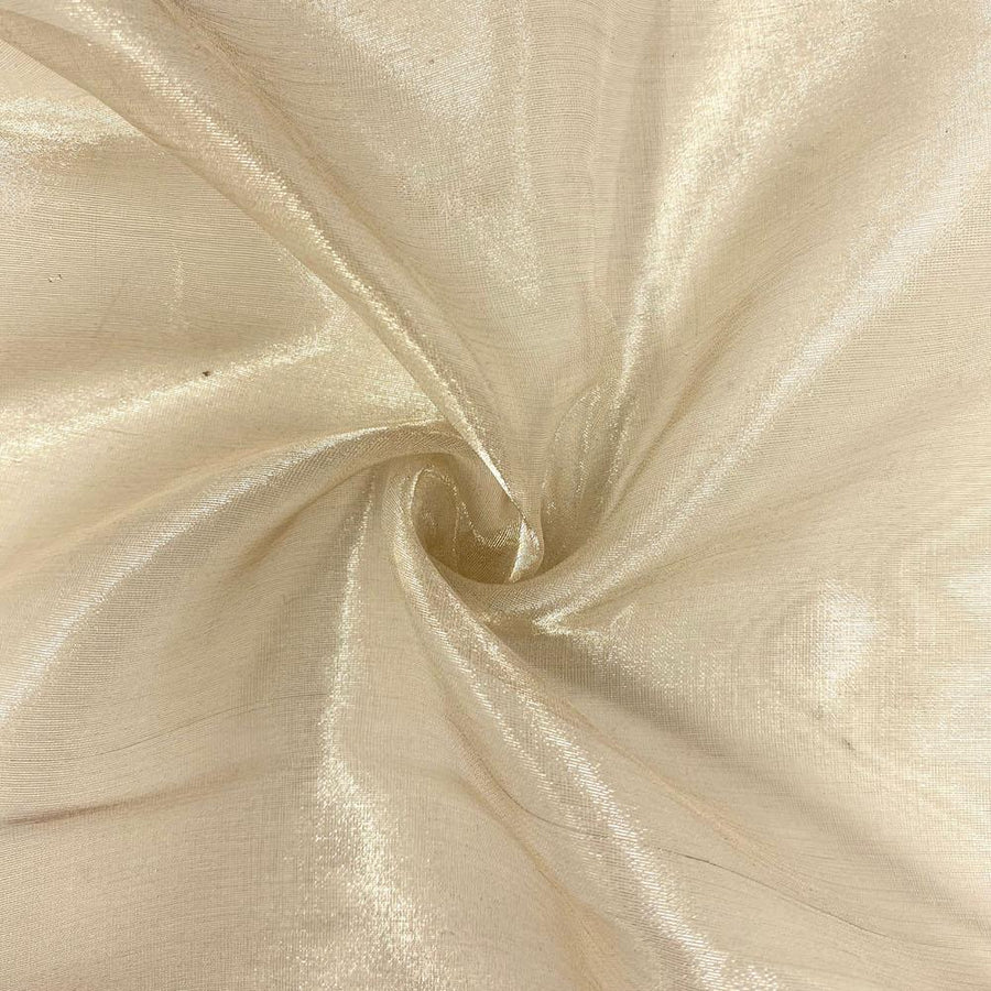 Metallic Silk Organza