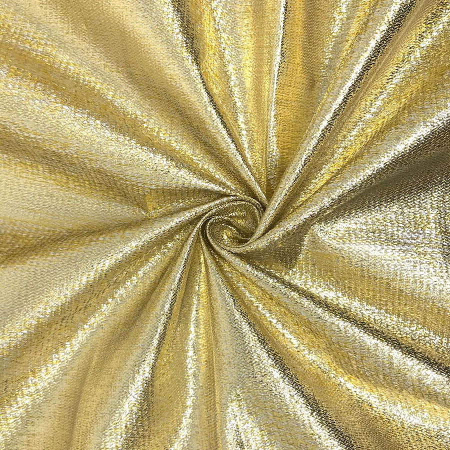 Metallic Two-Tone Foil Brocade
