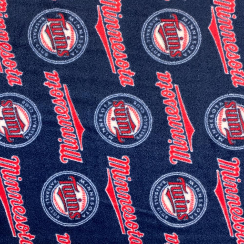 Minnesota Twins MLB Fleece Fabric