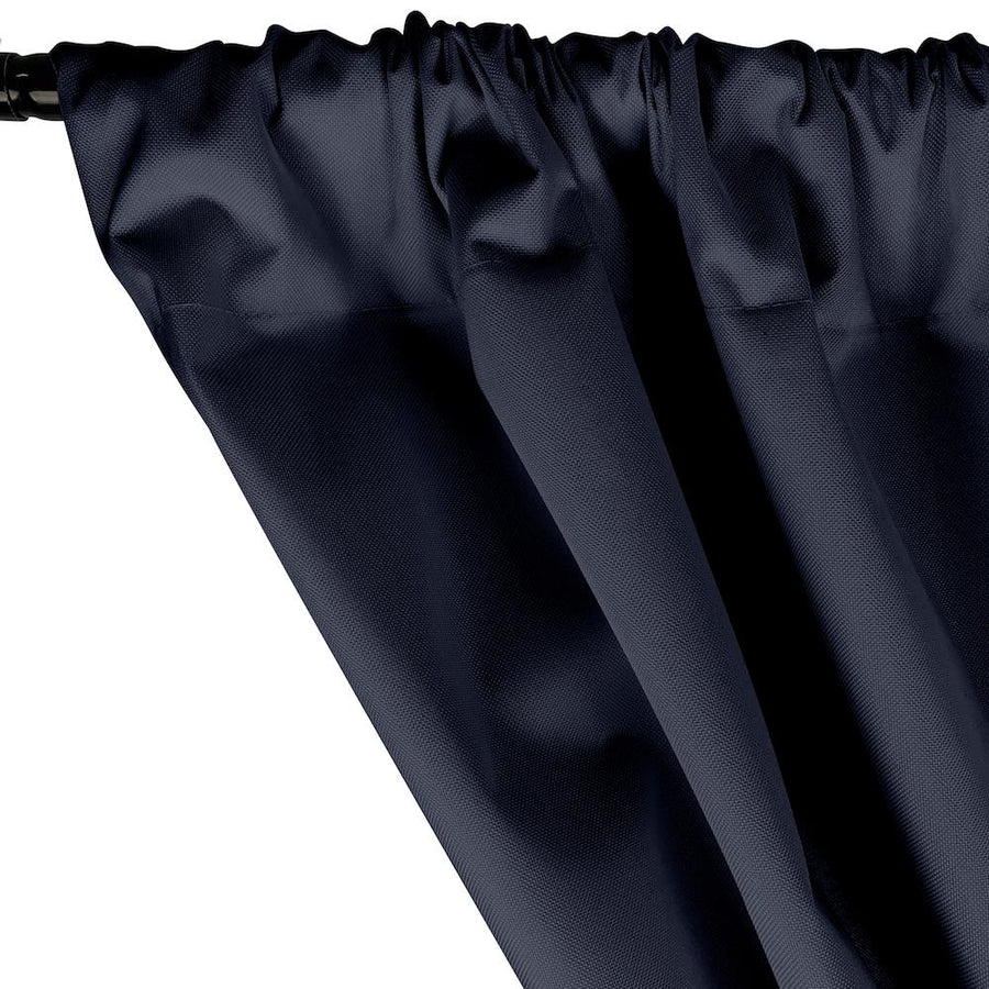 Ottertex® Canvas Waterproof Rod Pocket Curtains - Navy Blue