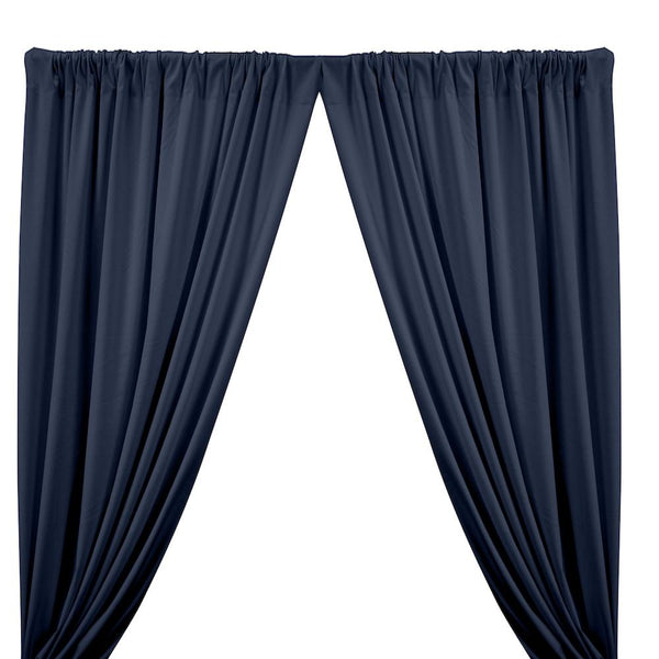 Ponte de Roma Rod Pocket Curtains - Navy