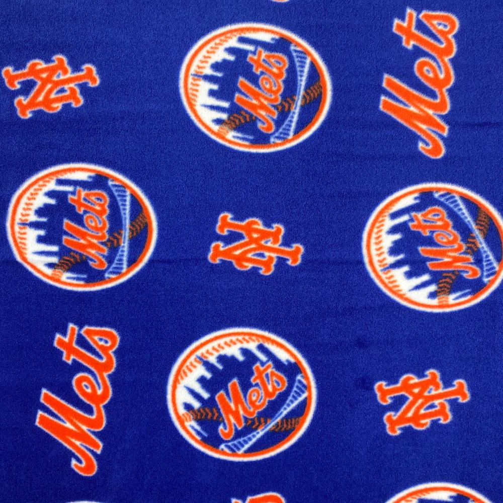 New York Mets MLB Fleece Fabric