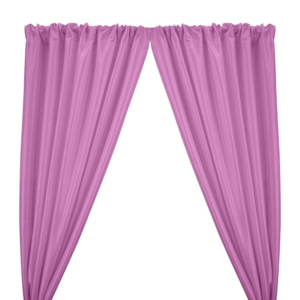 Stretch Taffeta Rod Pocket Curtains - Orchid