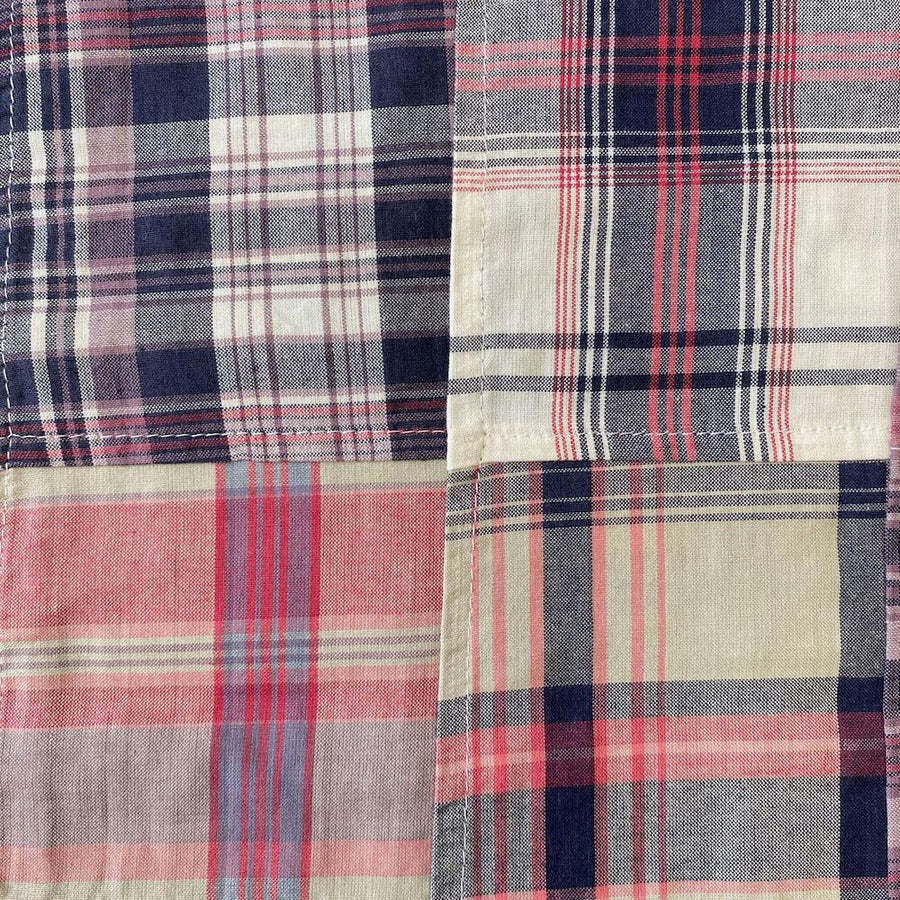 Patchwork Nantucket Madras Plaid Fabric - Charlotte