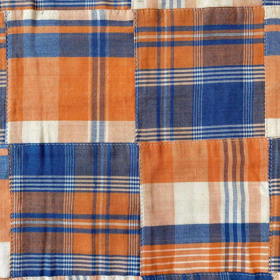 Patchwork Nantucket Madras Plaid Fabric - Ethan